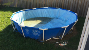 Pool 12 feet with no leaks