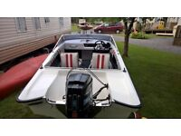 FLETCHER GTO SPEED BOAT 15ft