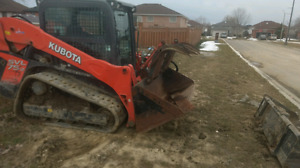 Bobcat Rental and Services Track Machines fpr all weather condit