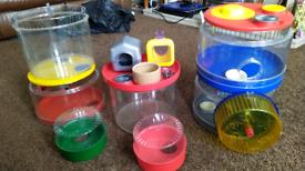 Rotastak hamster cage bundle