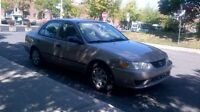 2002 Toyota Corolla automatique tout options