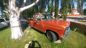 Selling 1981 ford step side short box