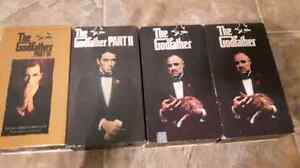 The godfather part 1, 2 ,3 vhs