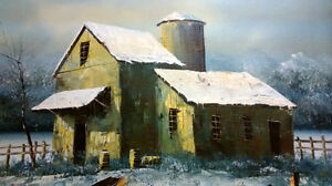 ORIGINAL WILLIAM NEWPORT OIL PAINTING. West Island Greater Montréal image 1