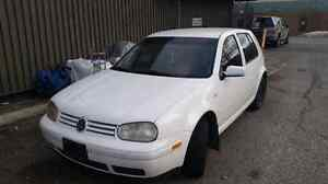 2003 vw golf certified and no Tax!!