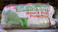 """2 bags of """"Sound and Safe"""" insulation for 16 in.wood studs"""