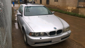 2001 bmw 525i 5 speed parting out