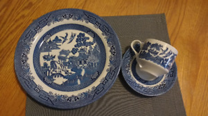 Churchill Classic Blue Willow Dinnerware and Serveware