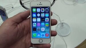 Unlocked gold iPhone 5S