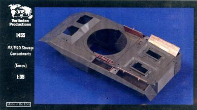 Verlinden Productions 1:35 M8/M20 Stowage Compartment PE Detail for Tamiya #1455, used for sale  Wentzville