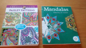 Two Brand New Coloring Books