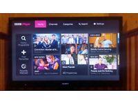 "Sony 40"" Smart TV Full HD 1080 LED 3D"