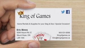 Stag and doe, Buck and doe, games for rent Cambridge Kitchener Area image 2