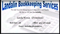 EXPERIENCED SELF EMPLOYED BOOKKEEPER LOOKING FOR NEW CLIENTS.