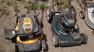 LAWNMOWERS FOR SALE with a 15 day guarantee