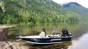 2006 legend prosport 1468 aluminum boat with 30hp mercury efi