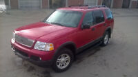 03 Ford Explorer XLT 4X4 (142KM $5000 OBO) Solid & Priced 2 Sell