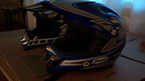 Junior motorcycle helmets