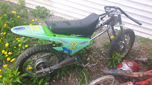 Baja 90 roller parts bike