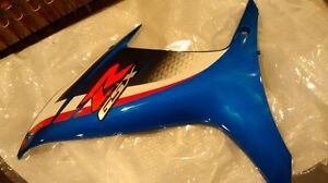 2013 GSXR 600 left and right side body panels