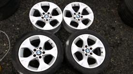 "17"" BMW X1 ALLOY WHEELS GENUINE"