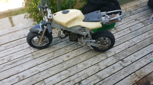 Lookin for pocket bike parts or bikes
