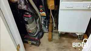 a dining set, kitchen/home appliances and sports equipment