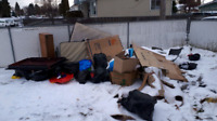 Junk removal low low rates 587 778 4128