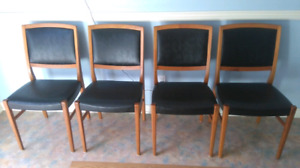 Mid Century Svegards Teak Dining Chairs
