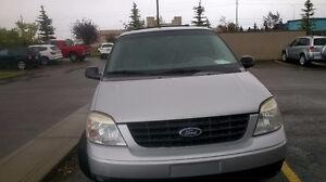 2007 Ford Freestar Silver Minivan, Van