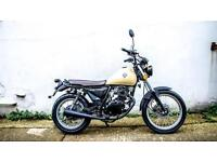 Sinnis Retrostar 125 learner legal own this bike for only £11.03 a week