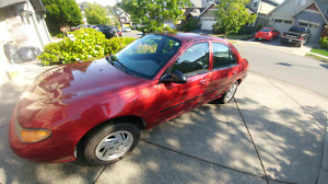 1999 Ford Escort 4 cyl 2.0L 5 speed manual  low mileage 1600OBO