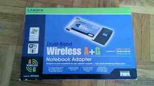 Wireless notebook adapter for XP