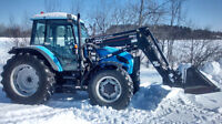 2003 landini vision 100 4x4 tractor loader
