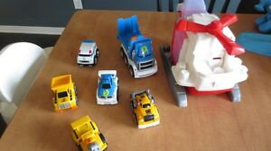 Lot Mega Bloks - First Builders - voiture - camions