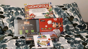 Super Mario Puzzles and Monopoly