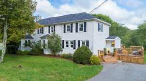 Renovated 4 bedroom waterfront home rich with history.