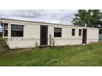 Static caravan priced for quick sale