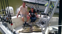 Lake Erie Walleye charter at Port Bruce