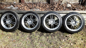 Goodyear Eagle GT Tires with aftermarket rims
