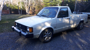 1982 Volkswagen Caddy 1.9 turbo diesel