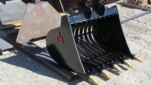 EXCAVATOR BUCKETS THUMBS & ROOT RAKES AND MORE Peterborough Peterborough Area image 2