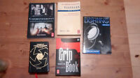 Collection of cinematography books - Film - Video - Lighting -