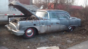 54 Buick and a 30 ford pickup and more