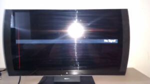 Playstation 3D Monitor (FAULTY Red Vertical Line) + Power Cable