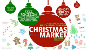Christmas Market at First Assembly Church