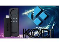 Fully loaded fire tv stick with kodi 16.1
