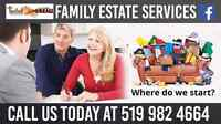 Closing an estate up is not easy. Let us help.