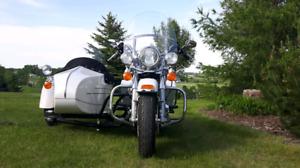 2003 Harley Davidson Road King with sidecar
