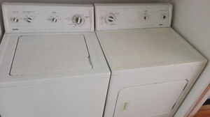 laveuse secheuse washer dryer kennmore